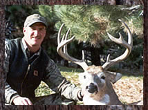 Click here to learn more about our whitetail deer hunts.